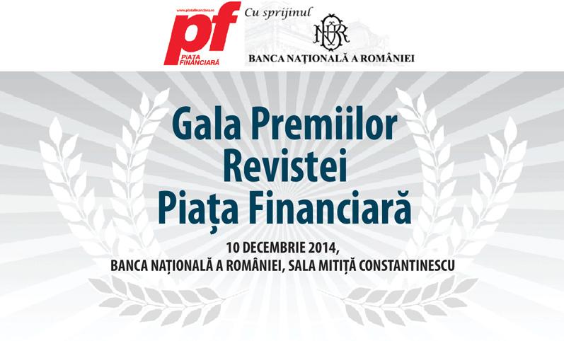 Gala Premiilor Revistei Piata Financiara